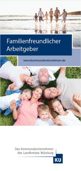 Flyer Familienfreundlicher Arbeitgeber_Titelseite