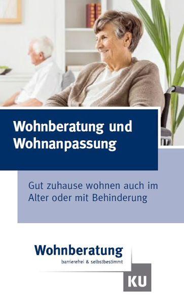 Wohnberatung Flyer Titelseite